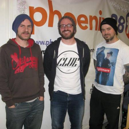 Radio Interview & 2 new tracks - Curveballs 2nd December 2015