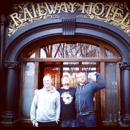 We had lots of fun at the Railway Hotel in Southend tonight. Thanks to @thedroppersneck for putting on an awesome event and inviting us to play. #alternative #ukband #livemusic #railwayhotel #southend #grunge #altrock