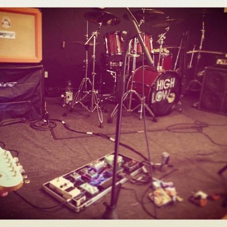 Well, that was loud #rock #fuzz #alternative #diyband #newmusic #ukband #jazzmaster #drums #fxpedals #effectspedals #studio #bassguitar #orangeamps #highlow